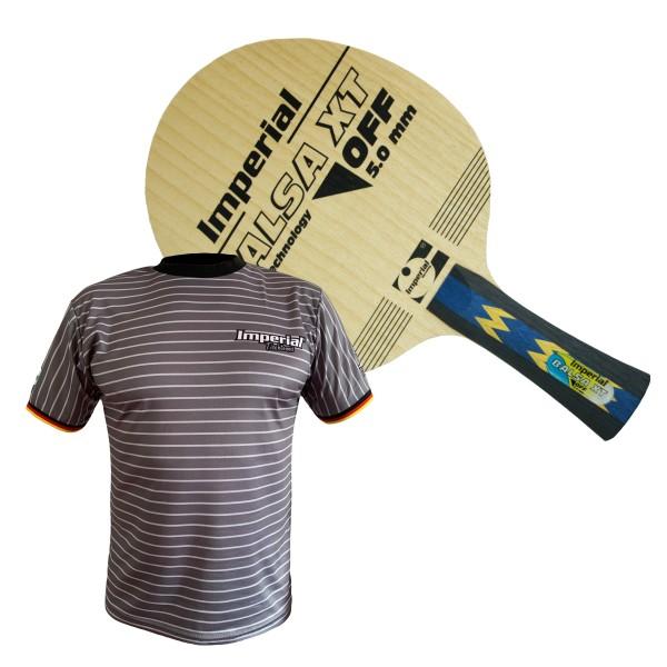 Kombiangebot KT-2170 (Imperail Balsa XT Holz + T-Shirt Germany)