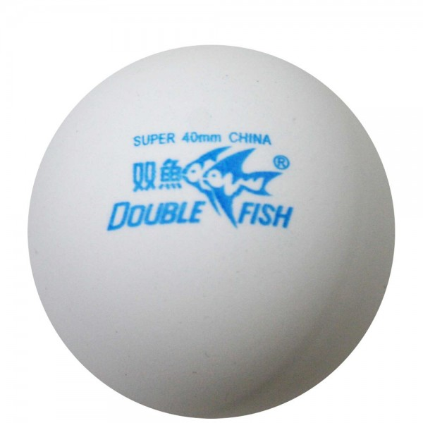 DOUBLE FISH Trainingsball (100 - weiß / Polybag)