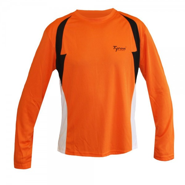 TYRON Longshirt Teamline-1 (orange)
