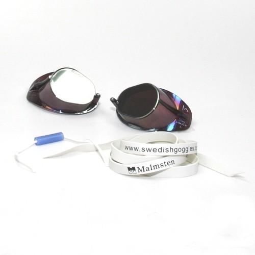 MALMSTEN Schwedenbrille (silber-metallic)