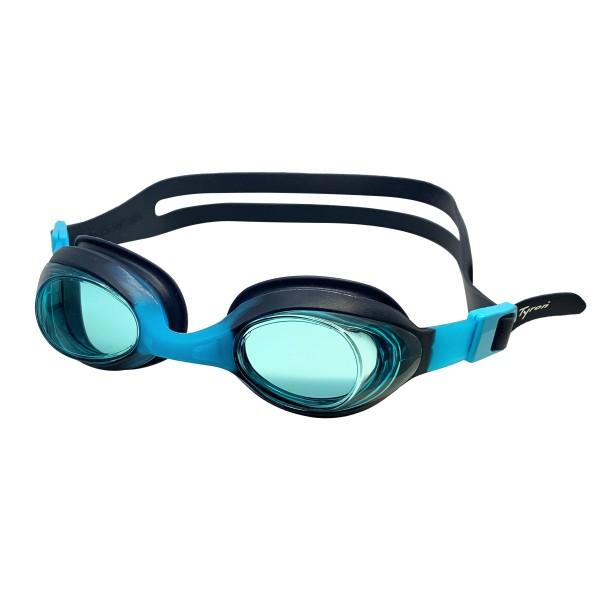 TYRON Kinder-Schwimmbrille Bubble (blau/navy)