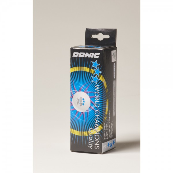 DONIC P40+ *** (4x3er Packung = 12 Bälle)