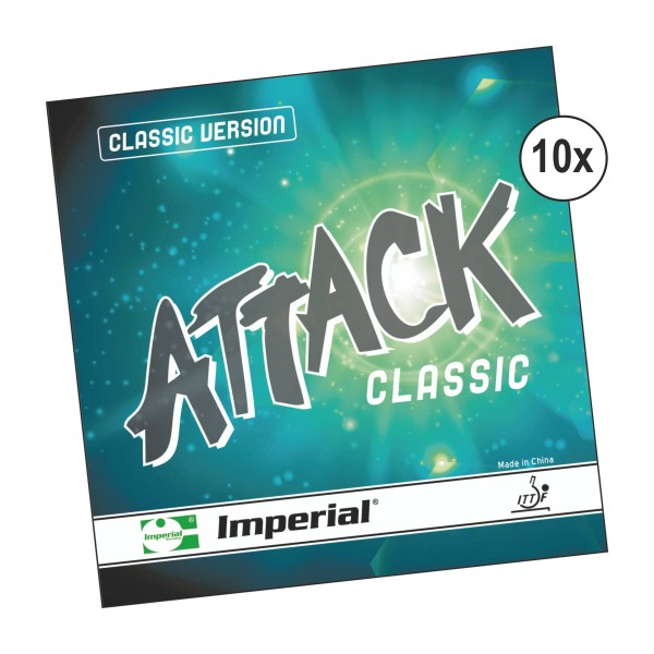 Kombiangebot Tischtennis KT-2150 (10 X Attack Classic)
