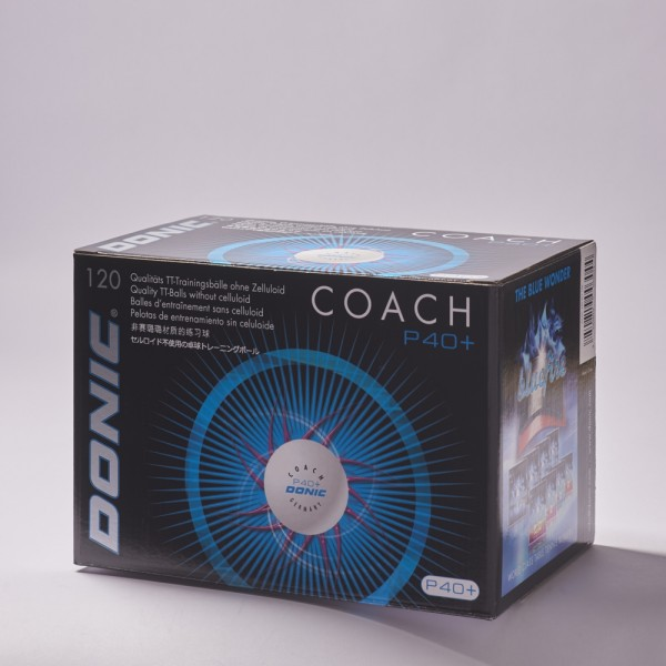 DONIC Coach P40+ (120er Packung)