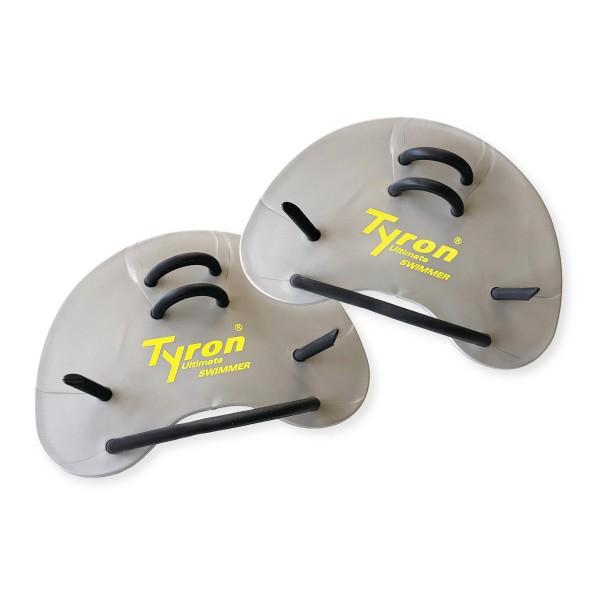 TYRON Finger Paddles (silber)