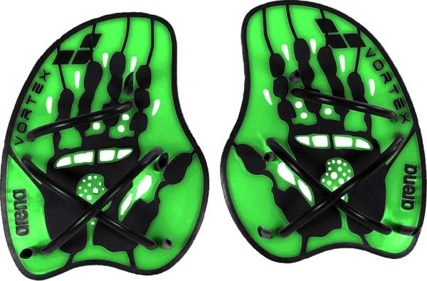 ARENA Paddles Vortex Evolution (schwarz/grün)