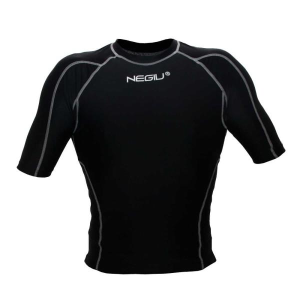 NEGIU Kompression-Shirt (schwarz)