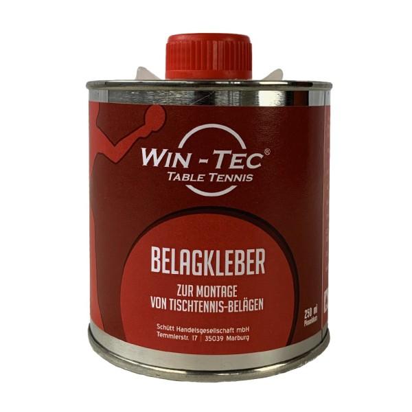 WIN-TEC Tischtennis Belagkleber Pinseldose (250 ml)