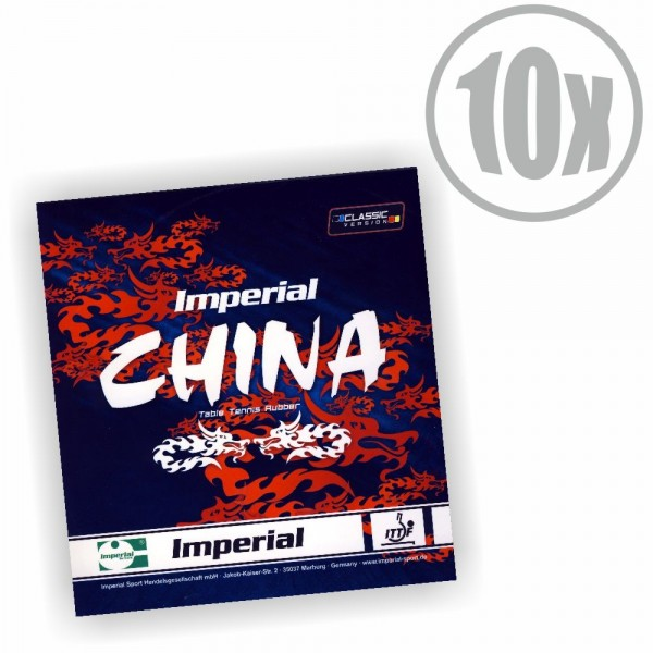 10er Paket Imperial China Classic