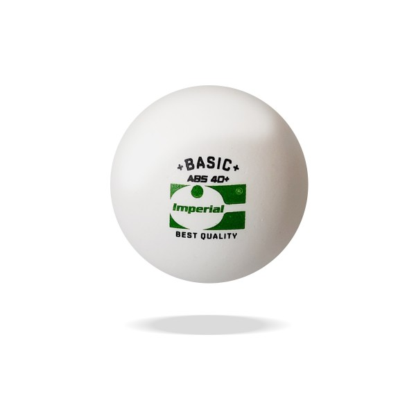 IMPERIAL ABS Basic 40+ Bälle (15er - weiß)
