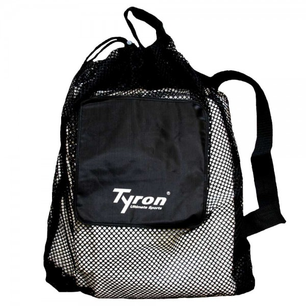 TYRON Mesh Bag II (schwarz - 40 cm x 60 cm)