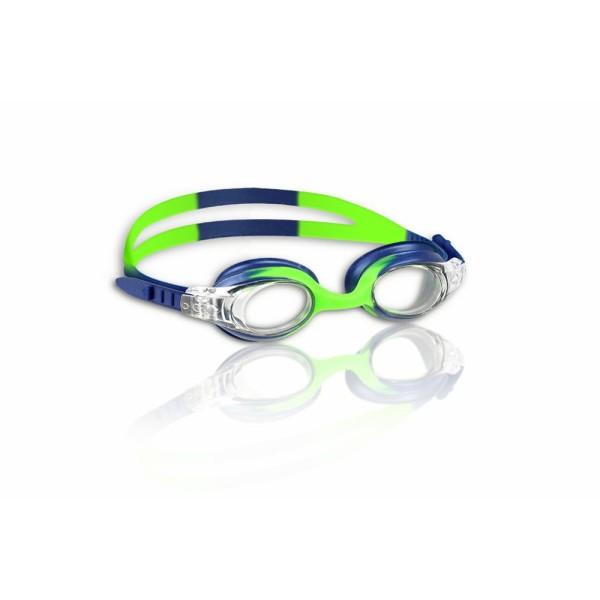 MALMSTEN Schwimmbrille Kinder Guppy (grün/blau)