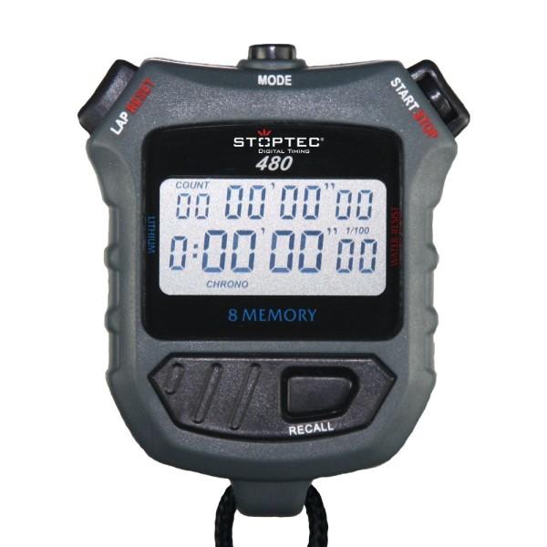 Stoppuhr STOPTEC 480 (8 Memory)