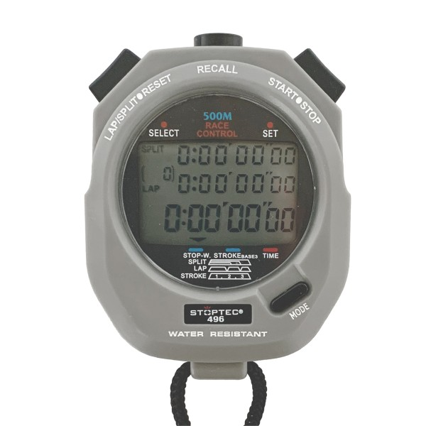 Stoppuhr STOPTEC 496 (500 File Memory / Stroke / Race Control)