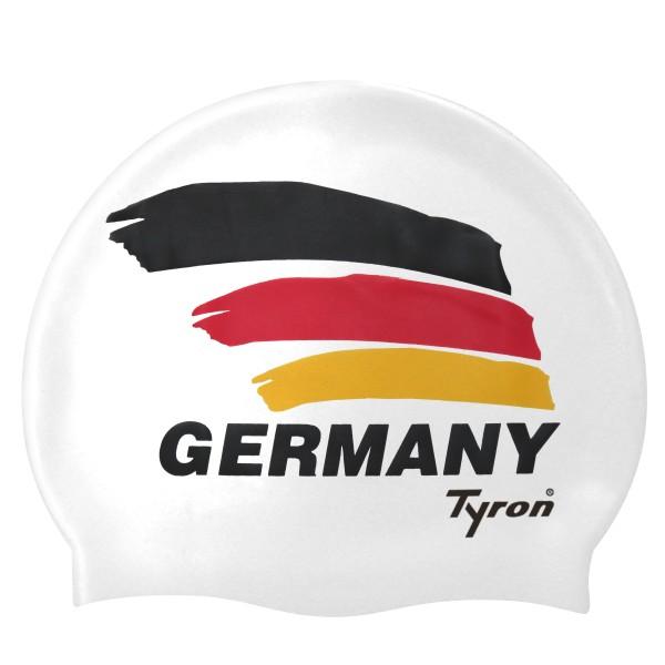TYRON Germany Badekappe (weiß)