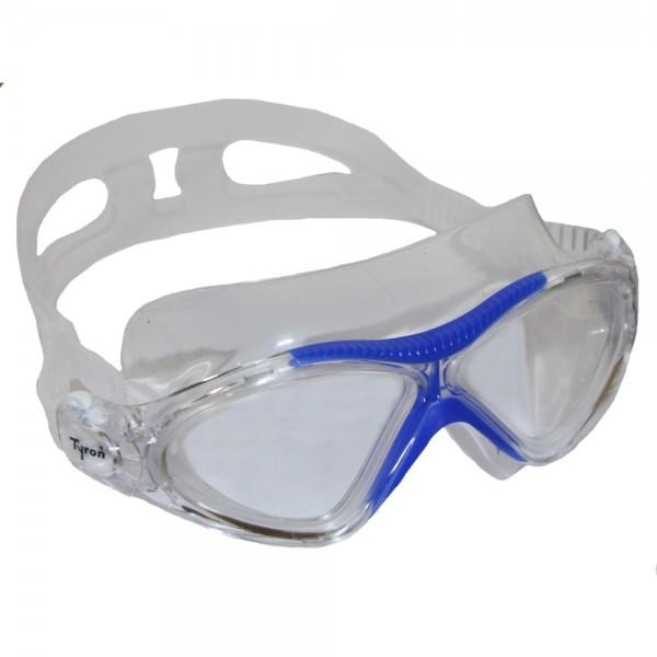 TYRON Freiwasser Schwimmmaske (blau)