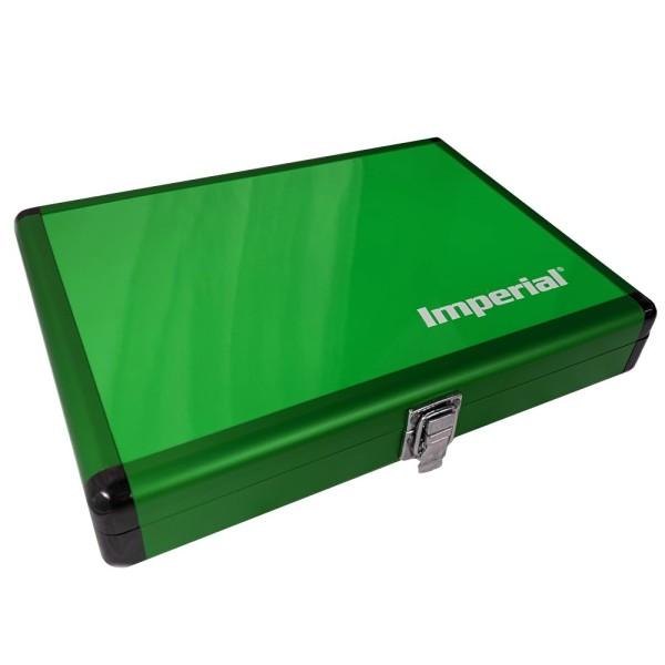 IMPERIAL Aluminium Schlägerkoffer (grün)