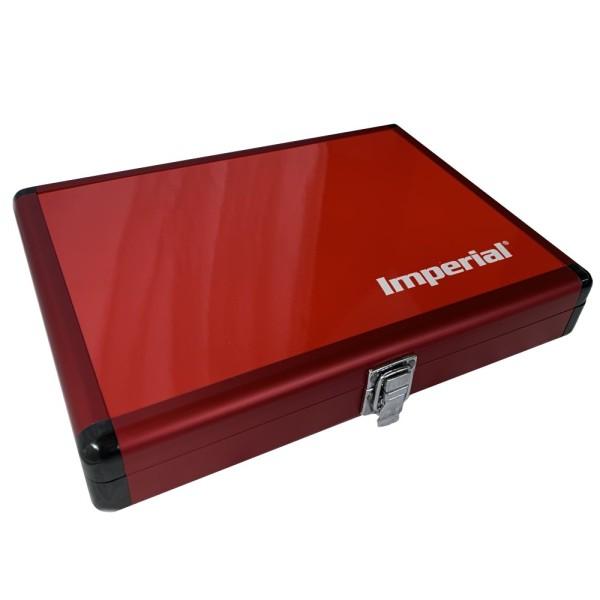 IMPERIAL Aluminium Schlägerkoffer (rot)