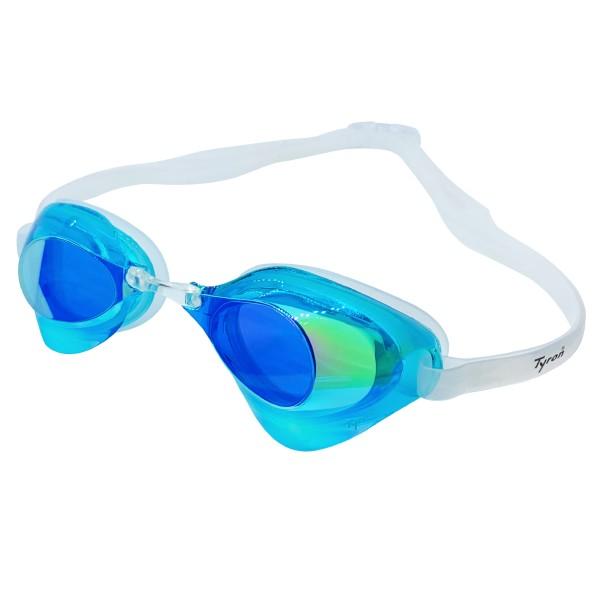 TYRON Performance Speed Goggle (hellblau verspiegelt)