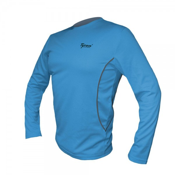 TYRON Longshirt Proline-2 (blau)