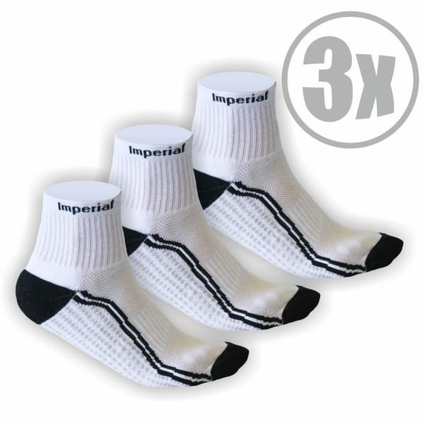 3 Paar Imperial Tischtennis Socken
