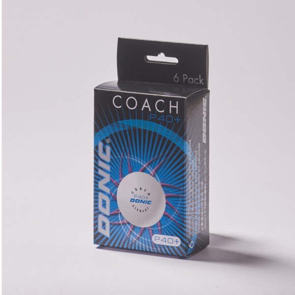 DONIC Coach P40+ (6er Packung)