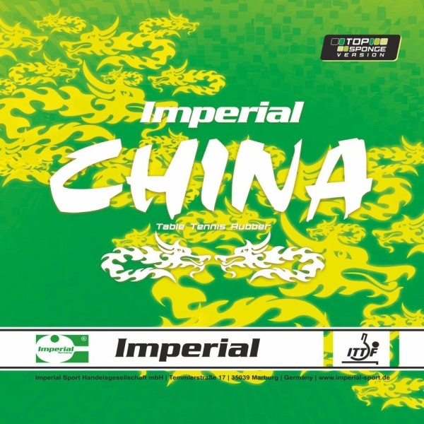 IMPERIAL China Top Sponge