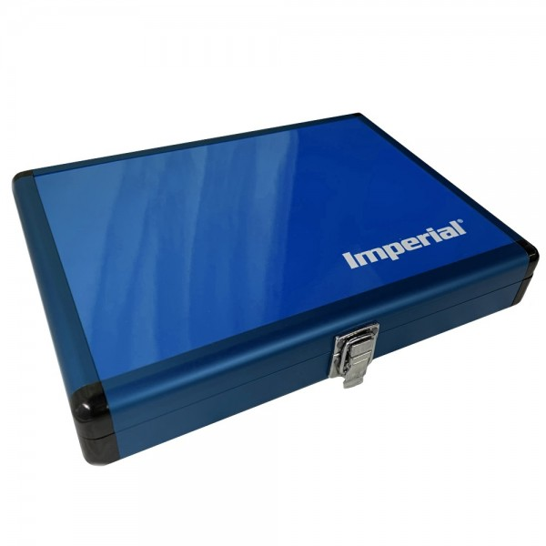 IMPERIAL Aluminium Schlägerkoffer (blau)