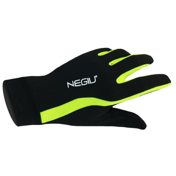 NEGIU Laufhandschuh HX-1 (schwarz/neongelb)